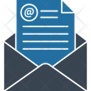 E Message Email Marketing Icon