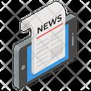 Online News E News E Newspaper Icon