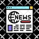 Internet Web Page Icon