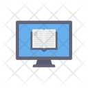 E Paper Online News Paper Monitor Icon