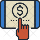 Epayment Tablet Pay Icon