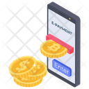E Payment Ecommerce Digital Payment Icon