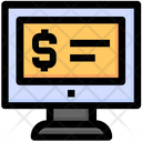 Seo Monitor Lcd Icon