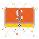 E Payment Computer Device Icon