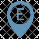 E Way Place Icon