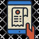 Receipt Bill Document Icon