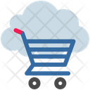 Cloud Computing E Shopping Icon