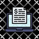 E Statement Bank Statement Online Statement Icon