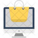 E Store Ecommerce Online Shopping Icon