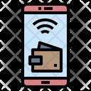 Ewallet Online Cashless Icon
