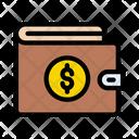 Wallet Purse Dollar Icon