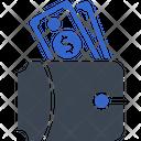 Money Cash Wallet Icon