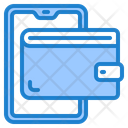 Wallet Mobilephone Online Icon