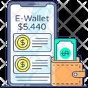 Digital Wallet E Wallet Mobile Wallet Icon