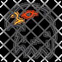 Eagle Hawk Bird Icon