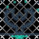 Hawk Peregrine Osprey Icon