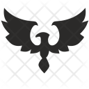 Fly Eagle Bird Icon