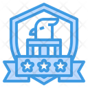 Eagle Badge Eagle Eagle Emblem Icon