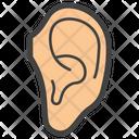 Ear Body Organ Body Part Icon