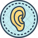 Ear Hear Human Icon
