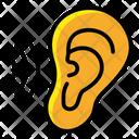 Ear Listening Organ Body Part Icon