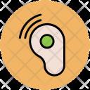 Ear Speaker Listen Icon