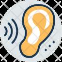 Listening Sounds Sense Icon