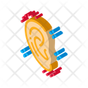 Ear Change Plastic Icon