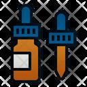 Ear Drops Bottle Medicine Icon