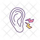 Ear Infection Medical Icon