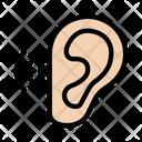 Ear Listen Body Icon