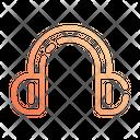 Ear Muffs Headset Head Phone Icon