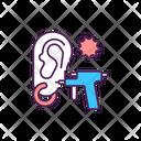 Ear Piercing Gun Piercing Gun Risk Icon