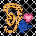 Sound Pleasant Ear Icon
