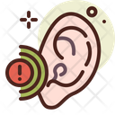 Ear Problem Ear Disease Ear Injury Icon