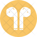 Earbuds Earphones Earpieces Icon