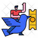 Early Bird Promotion Sale Icon