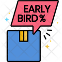 Early Bird Prices Icon