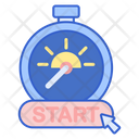 Early Start Start Stopwatch Icon