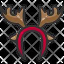 Earmuffs Reindeer Antlers Deer Icon