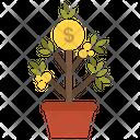 Earn Enrich Gold Icon
