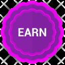 Label Earn Sticker Icon