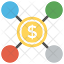 Earn Money Network Icon