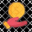Money Hand Estate Icon