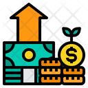 Growth Earning Profit Icon