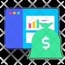 Earning Dashboard Earning Money Icon