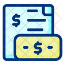 Earning Invoice Invoice Receipt Icon