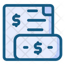 Earning Invoice Icon