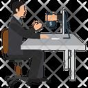 Earning Online Freelance Freelancer Icon