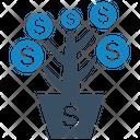 Earnings Finance Income Icon